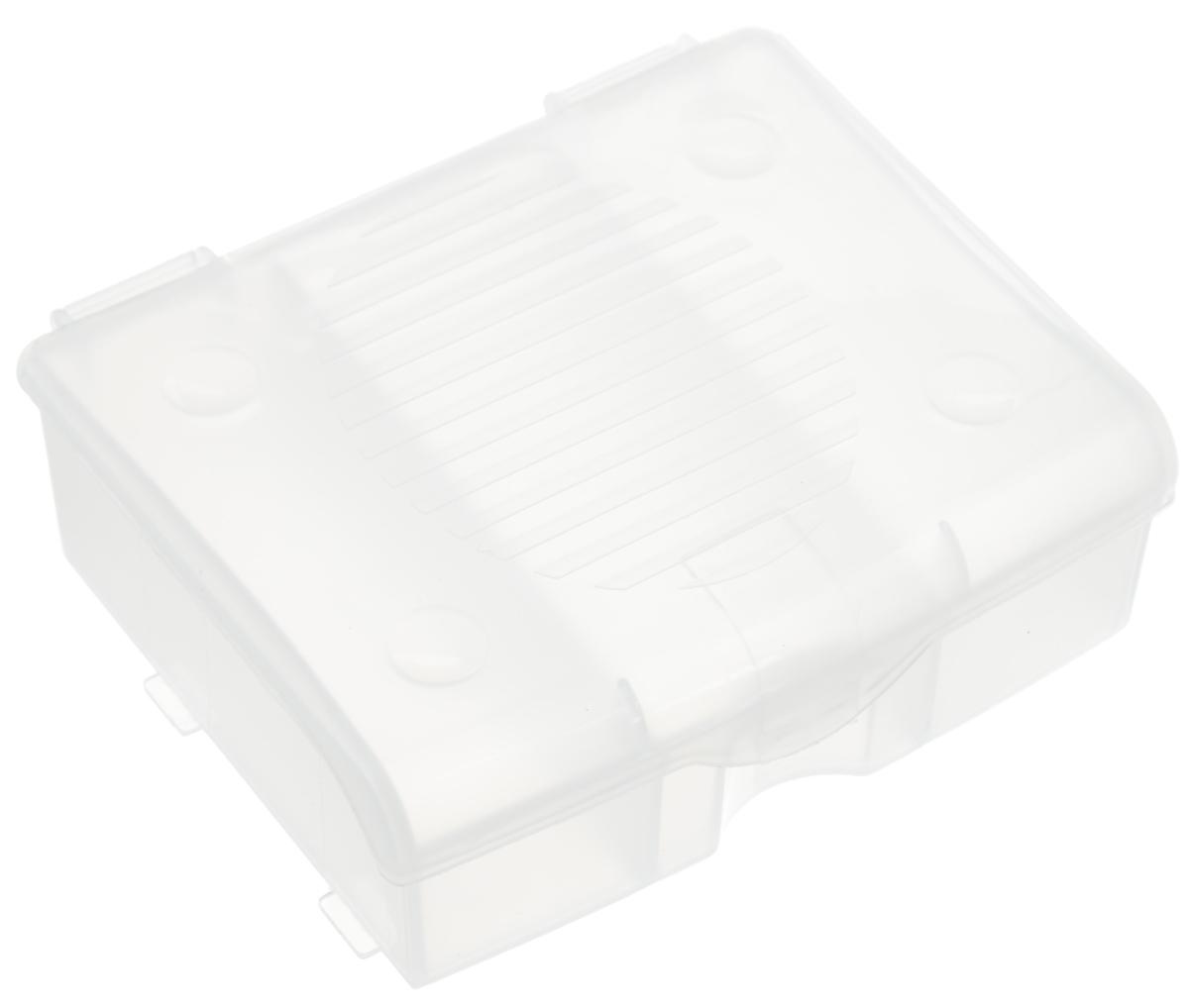 Органайзер для мелочей Blocker, цвет: прозрачный, 11 х 9 х 4,2 см цена