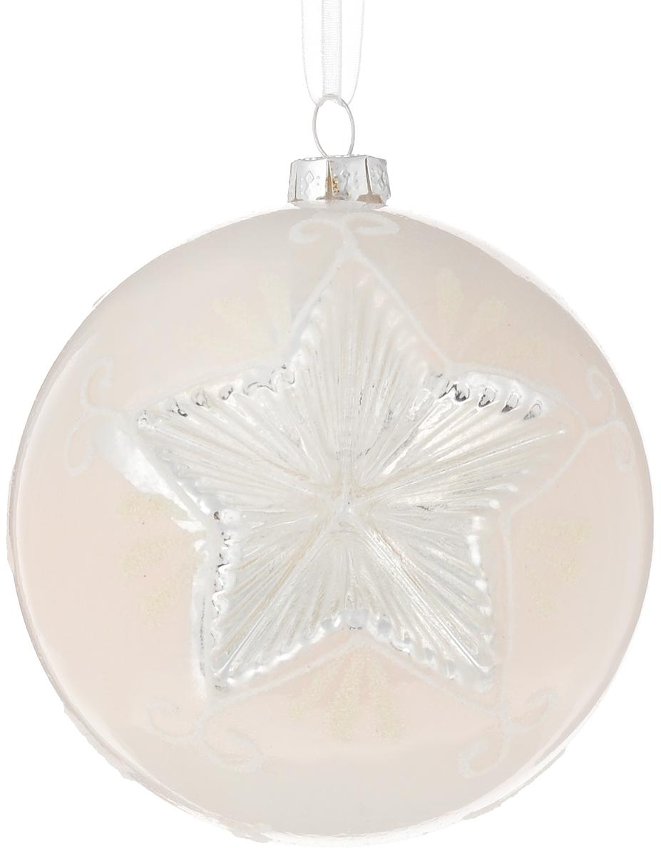 """Украшение новогоднее подвесное Magic Time """"Морозная звезда"""", 8 см"""