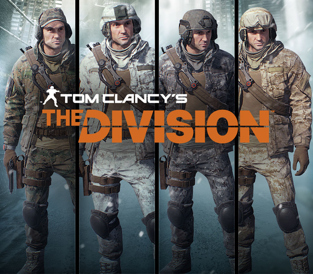 Tom Clancy's The Division. Marine Forces Pack