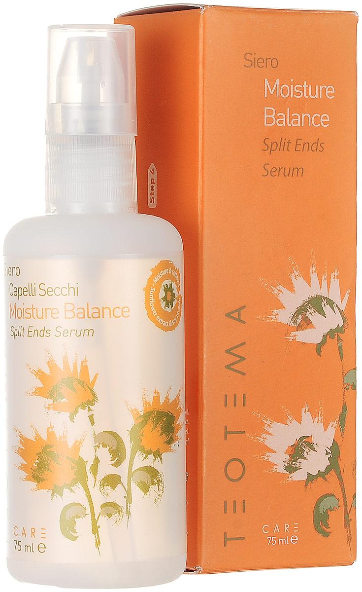 Teotema Сыворотка для секущихся кончиков волос для нормальных, чувствительных и поврежденных волос 75 мл для волос от солнца