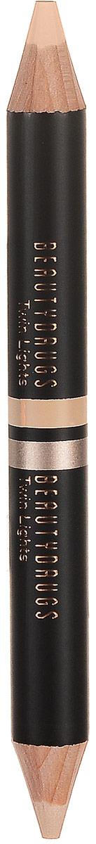 Beautydrugs Twin Lights Двойной карандаш-хайлайтер 01, 2,98 гр