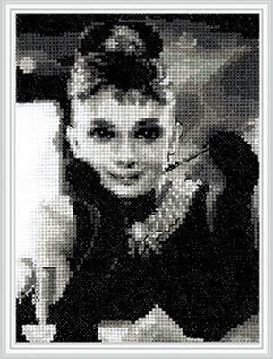 Набор для вышивания крестом Кларт Paris, 14 x 18 см набор для вышивания крестом кларт лицо птицы 8 x 13 см