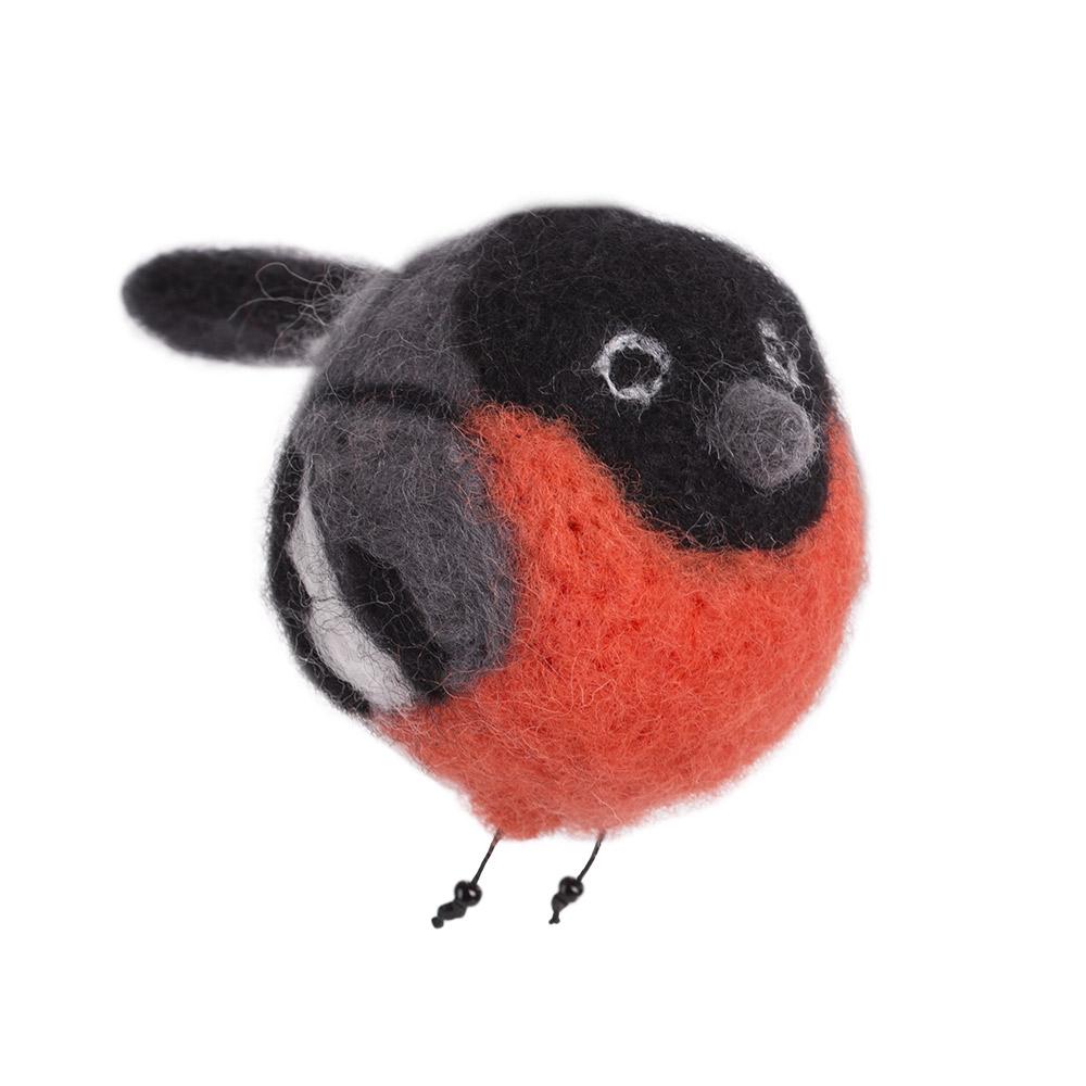 Набор для творчества Woolla Снегирь Снежик набор для валяния woolla олененок оникс wt 0164