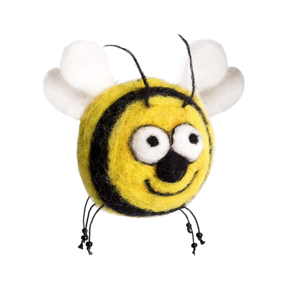 Набор для творчества Woolla Пчела Пчелетта набор для валяния woolla олененок оникс wt 0164