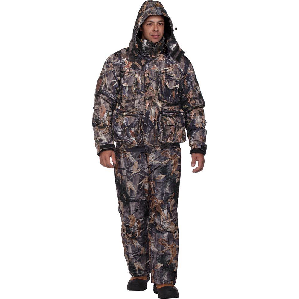 Костюм охотничий HunterMan Nova Tour47023-715Зимний костюм Гриф V2 для охоты и отдыха, состоящий из куртки и брюк, выполнен из плотного материала Tricot с утеплителем Termo MAX на подкладке из ворсового полотна 160 г/кв.м. Куртка с капюшоном и воротником-стойкой застегивается на застежку-молнию и дополнительно имеет ветрозащитный клапан на кнопках. Регулируемый капюшон пристегивается к куртке при помощи застежки-молнии. Рукава дополнены внутренними флисовыми манжетами. Брюки дополнены съемными широкими эластичными лямками, регулируемыми по длине. Понизу брючины регулируются по ширине и дополнены снегозащитной муфтой. Костюм дополнен множеством вместительных карманов. Влагостойкость, 5000мм. Паропроницаемость - 5000мл/м.кв/24часа.