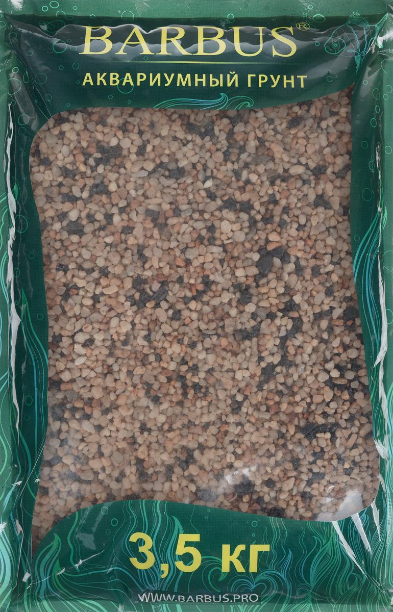 Грунт для аквариума Barbus Премиум, натуральный, кварц, 4-4 мм, 3,5 кг грунт для аквариума barbus горный натуральный кварц 2 7 мм 3 5 кг
