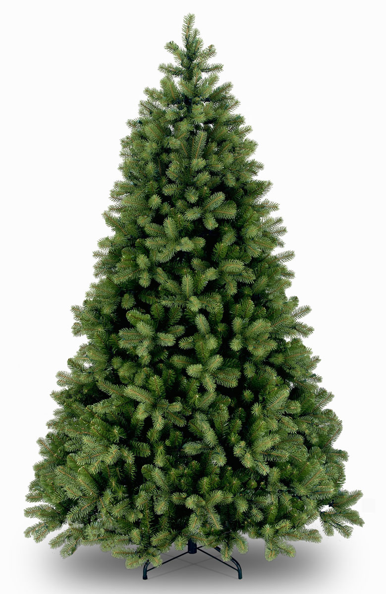 Ель искусственная Poly Bayberry Spruce, цвет: зеленый, высота 122 см ель искусственная national tree company poly asbury высота 183 см 31hpeas60