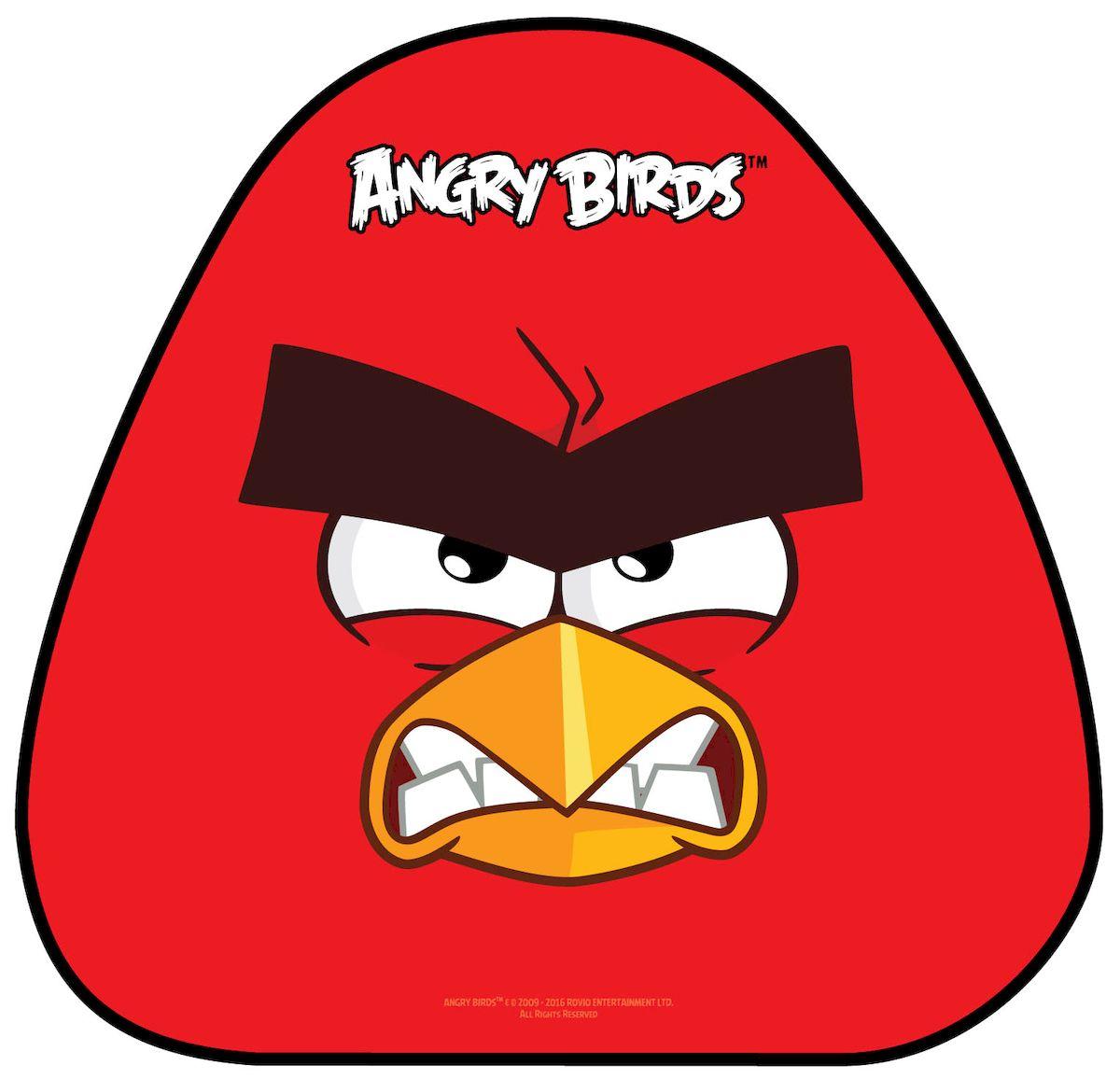 Ледянка 1toy Angry Birds, 52 х 50 см ледянка 1toy angry birds пластик рисунок