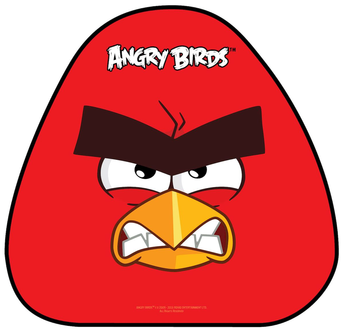 Ледянка 1toy Angry Birds, 52 х 50 см тюбинг 1toy angry birds разноцветный пвх