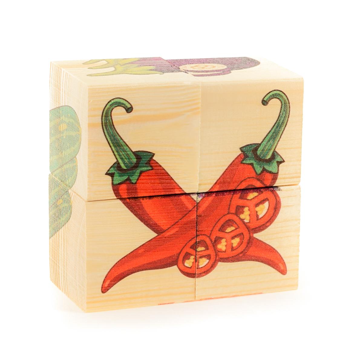 Фото - Развивающие деревянные игрушки Кубики Овощи развивающие деревянные игрушки кубики фрукты
