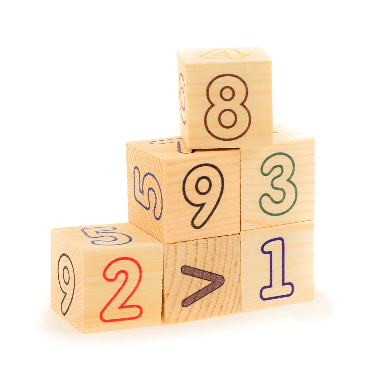 Развивающие деревянные игрушки Кубики Цифры счет кубики русские деревянные игрушки игрушки д482а 4 шт