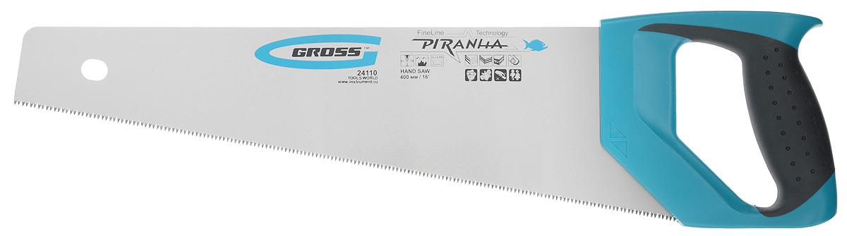 Ножовка по дереву Gross Piranha 1112 TPI 40 см