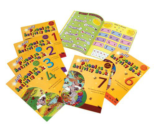 Jolly Phonics Activity Books: Set 1-7 (комплект из 7 книг) c page 5 page 8 page 7 page 10