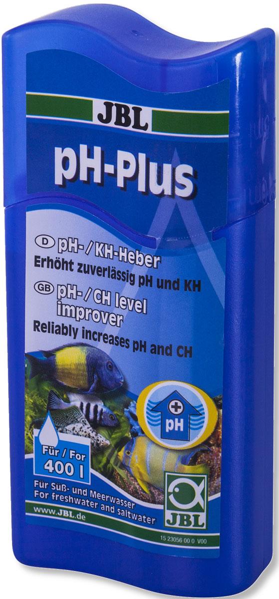 JBL pH-Plus Препарат для повышения значения рН, 100 мл препарат jbl ektol fluid plus 250 от плавниковой гнили и др внешн бактериаль заболев 100мл на 500л