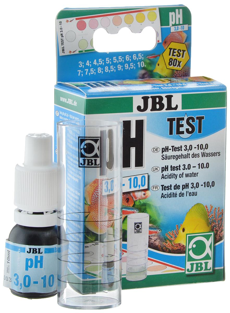 Тест JBL pH Test-Set, для контроля значения рН в пресной и морской воде комплект jbl ph test set для контроля значения рн в пресной и морской воде от 7 4 до 9 0 единиц 80 измерений