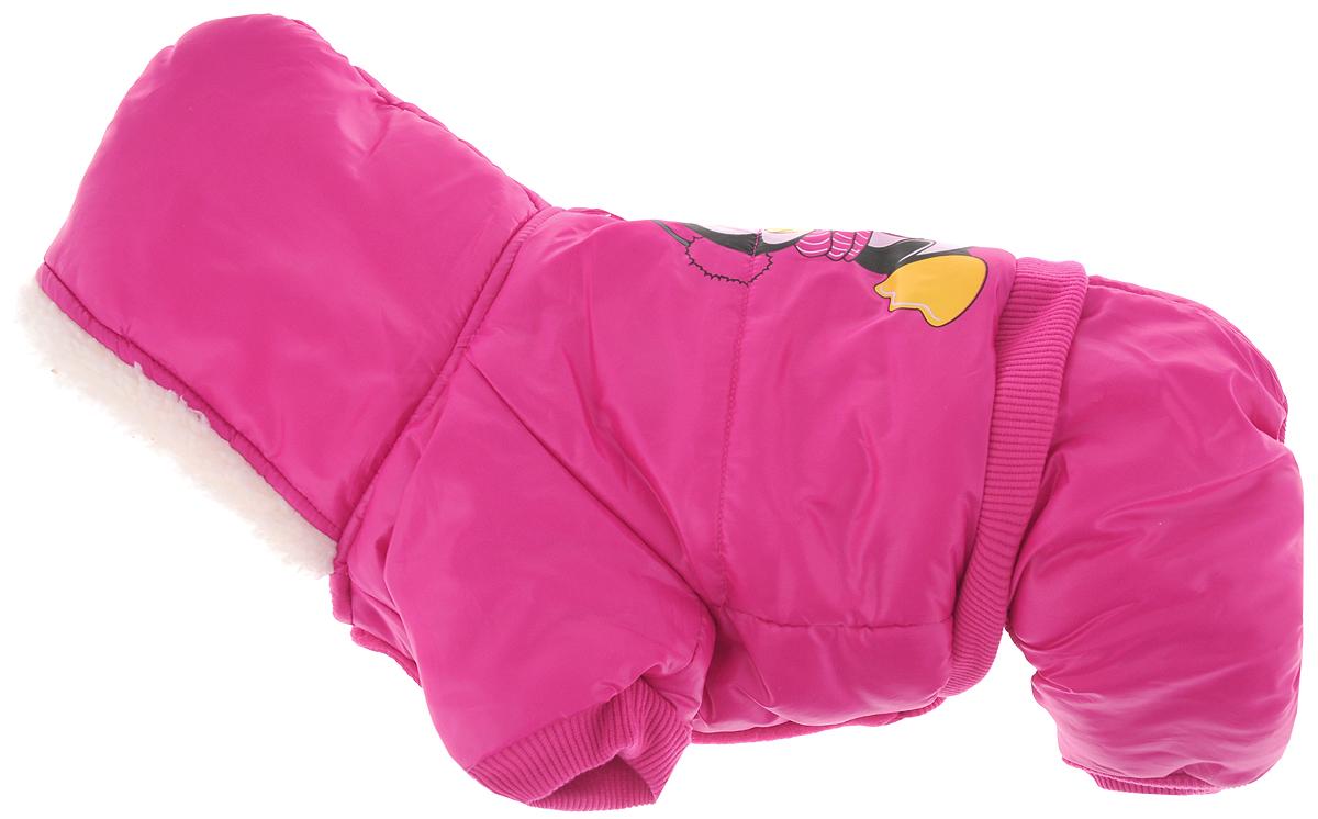 Комбинезон для собак Triol Пингвин, утепленный, унисекс. Размер XS