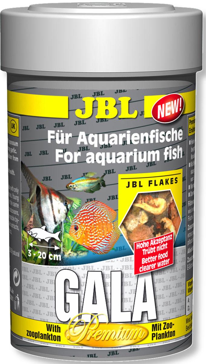 Корм для рыб JBL Gala, в форме хлопьев, 250 мл (30 г) для рыб по гороскопу подходит кто