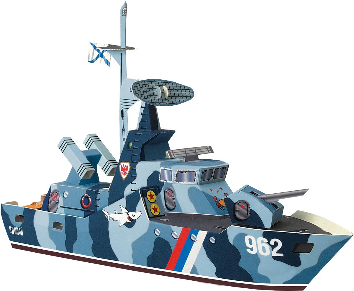 Умная бумага 3D Пазл Ракетный катер Удалой