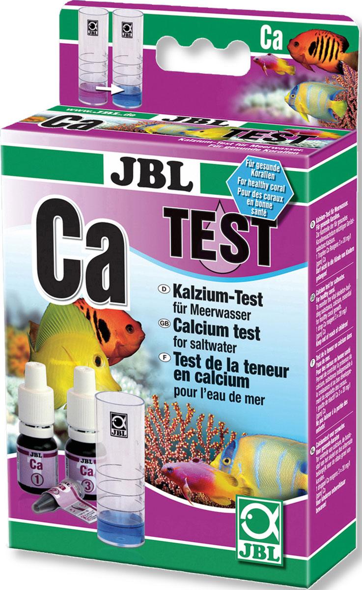 Тест JBL Calcium Test-Set Ca для точного измерения содержания кальция во всех аквариумах с морской водой комплект jbl ph test set для контроля значения рн в пресной и морской воде от 7 4 до 9 0 единиц 80 измерений
