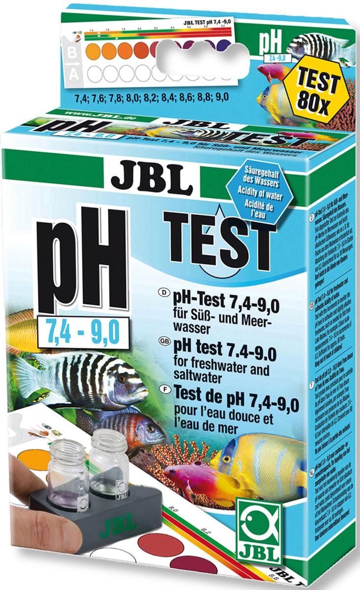 Комплект JBL pH Test-Set для контроля значения рН в пресной и морской воде от 7,4 до 9,0 единиц, 80 измерений комплект jbl ph test set для контроля значения рн в пресной и морской воде от 7 4 до 9 0 единиц 80 измерений