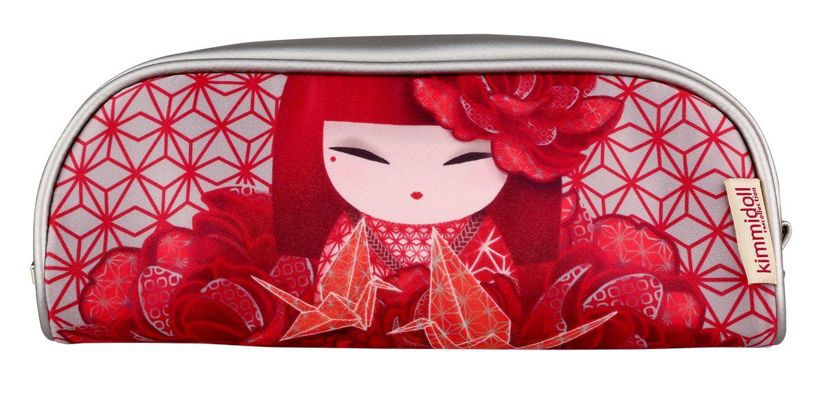 Косметичка женская Kimmidoll, цвет: красный. KF1104 косметичка женская kimmidoll цвет розовый kf1193