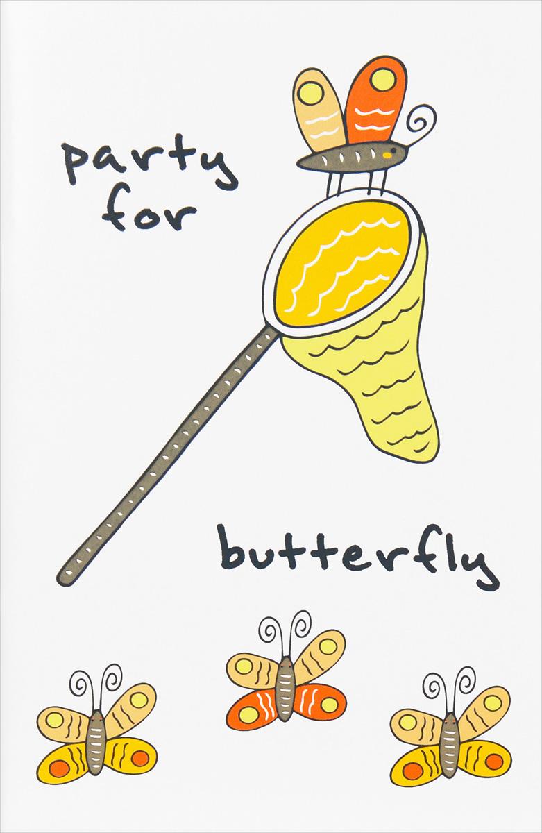 Блокнот для записей Party for butterfly (А5)