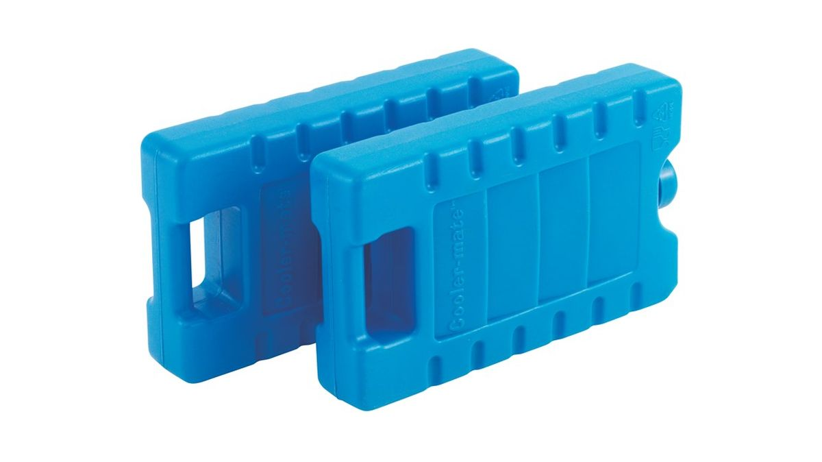 Аккумулятор холода Outwell Ice Block M, цвет: синий, 400 мл, 2 шт