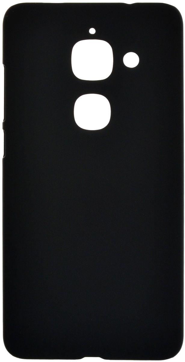 SkinBox 4People чехол для LeEco Le Max 2, Black + защитная пленка