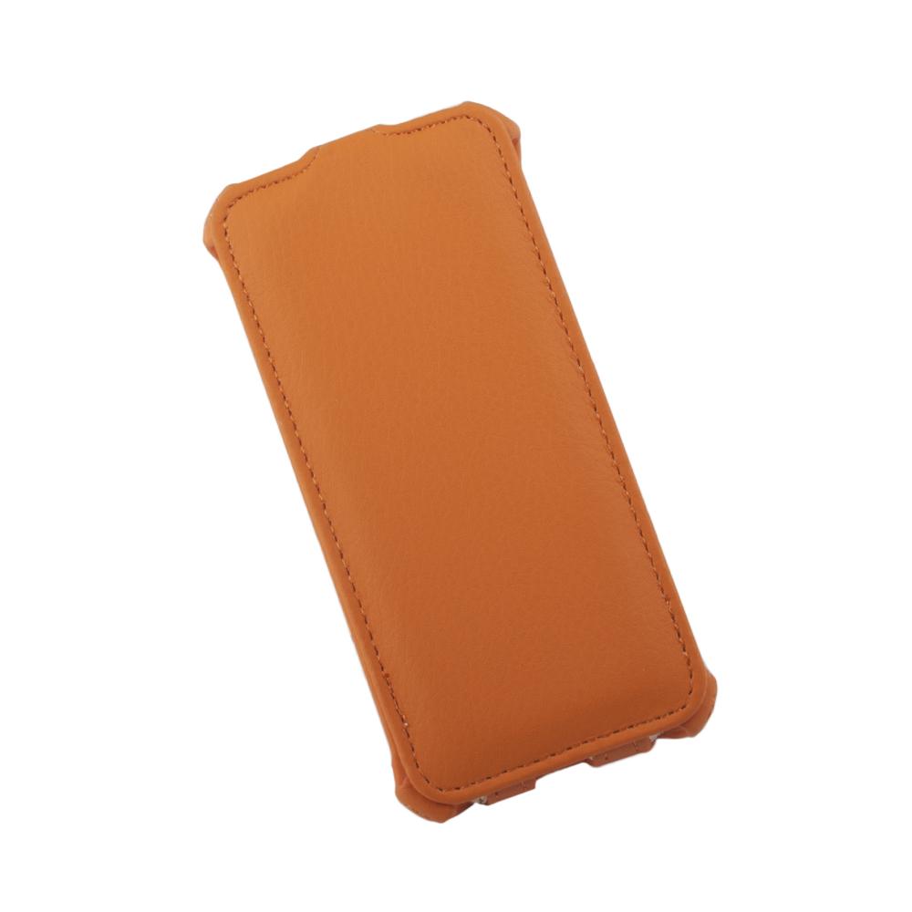 Liberty Project чехол-флип для Apple iPhone 5/5s, Orange