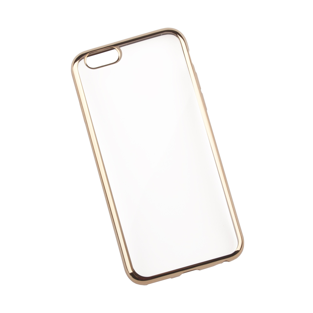 Liberty Project чехол для Apple iPhone 6/6s, Clear Gold цена