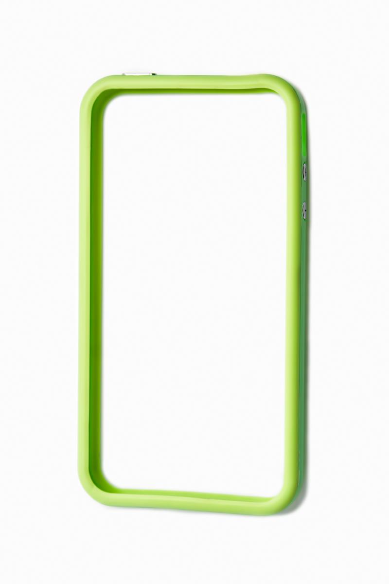 Liberty Project Bumpers чехол для Apple iPhone 4/4S, Green цена