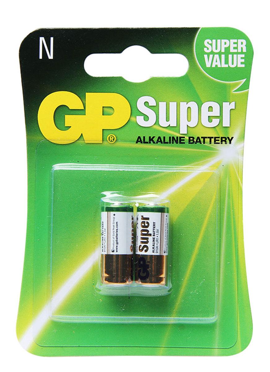 Батарейка алкалиновая GP Batteries, тип 910А (LR01), 2 шт main frame battery cabinet for optional batteries 12ah 40pcs without batteries