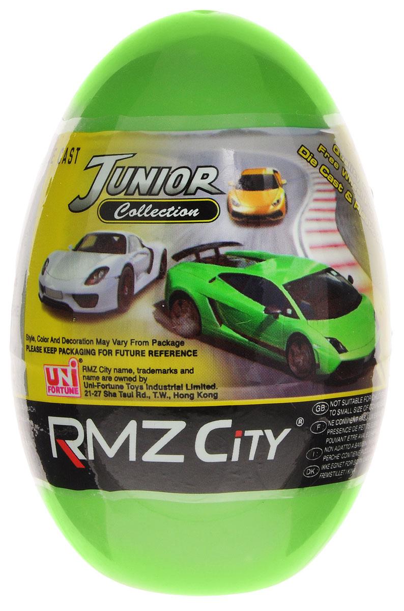 Uni-Fortune Toys Яйцо с моделью автомобиля цвет зеленый