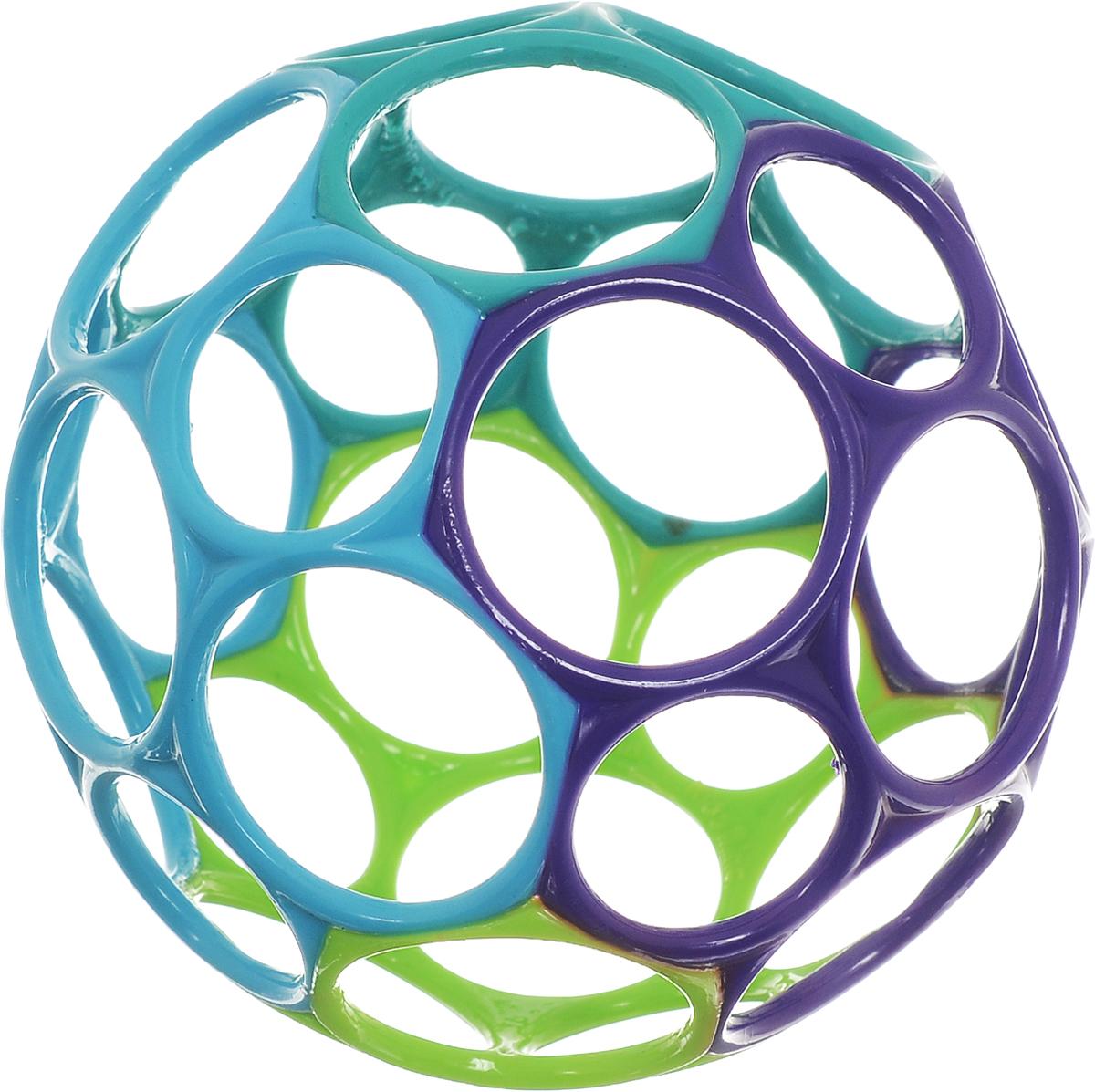 Развивающая игрушка Oball 81024_фиолетовый/голубой/салатовый
