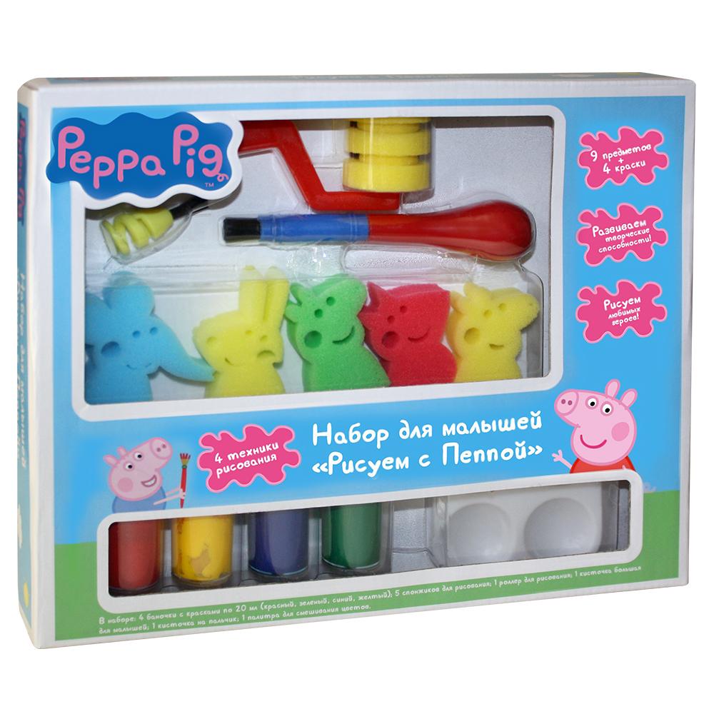 Peppa Pig Набор для рисования Рисуем с Пеппой