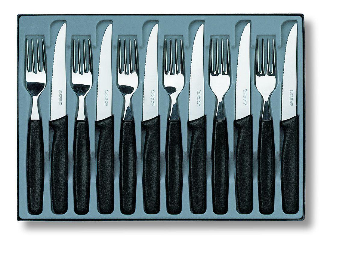 Фото - Набор столовых приборов Victorinox, 12 предметов victorinox набор столовых ножей swiss classic 6 пр 11 см 6 7833 6 victorinox