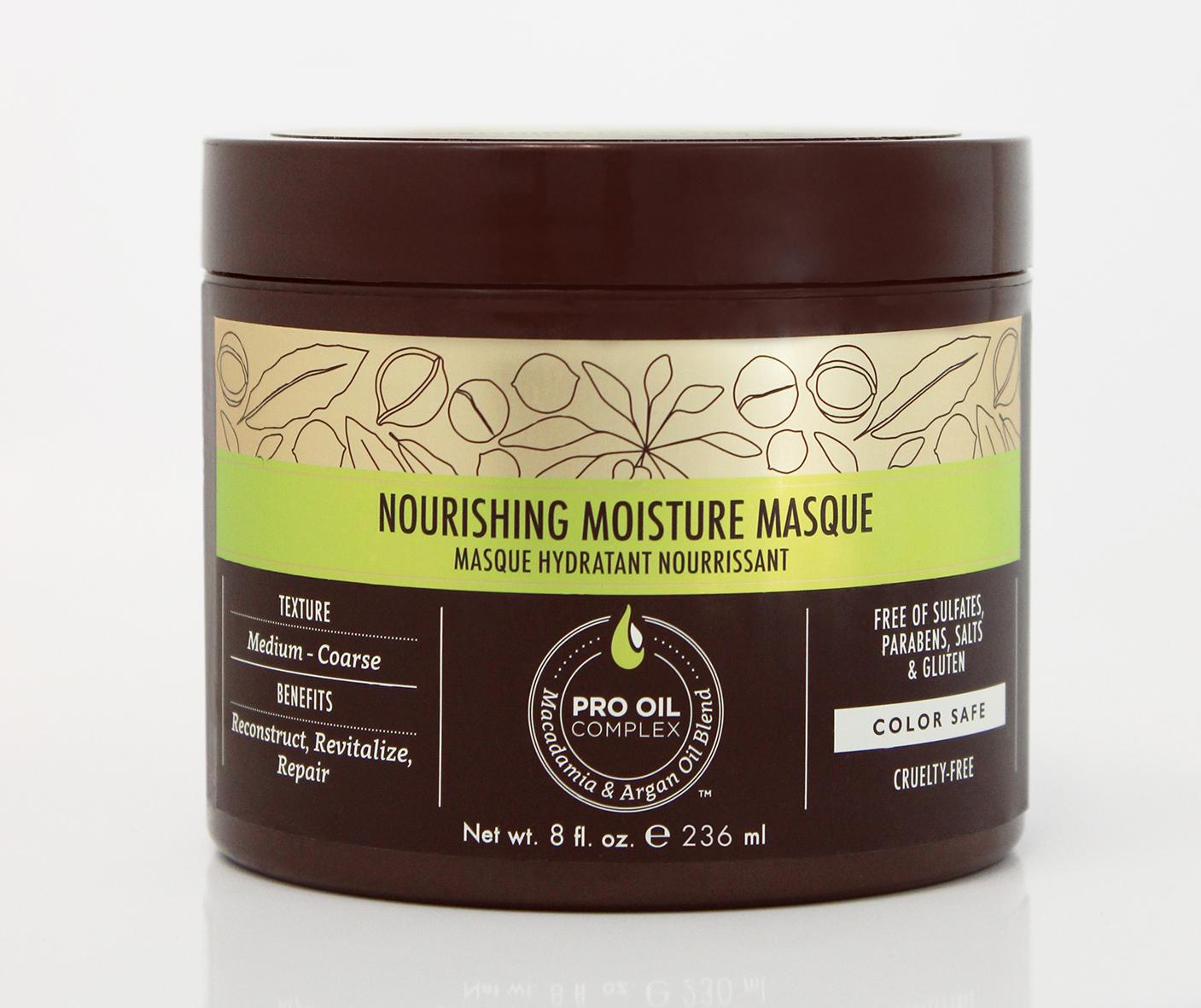Macadamia Professional Маска питательная для всех типов волос, 236 мл