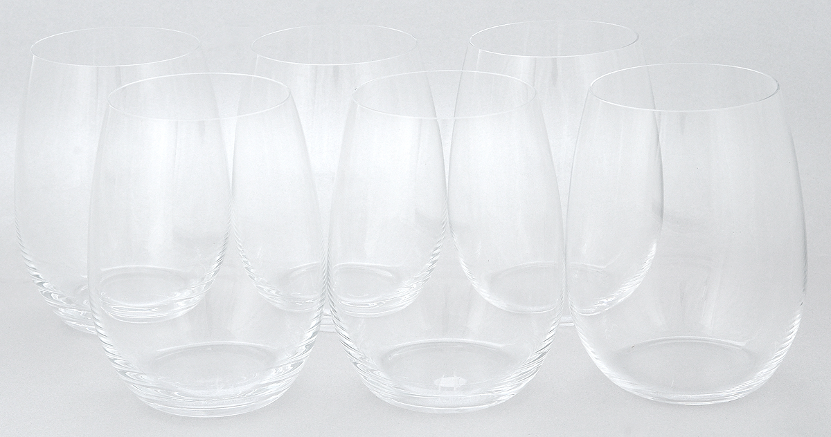 "Набор стаканов Pasabahce ""Pure"", 370 мл, 6 шт"