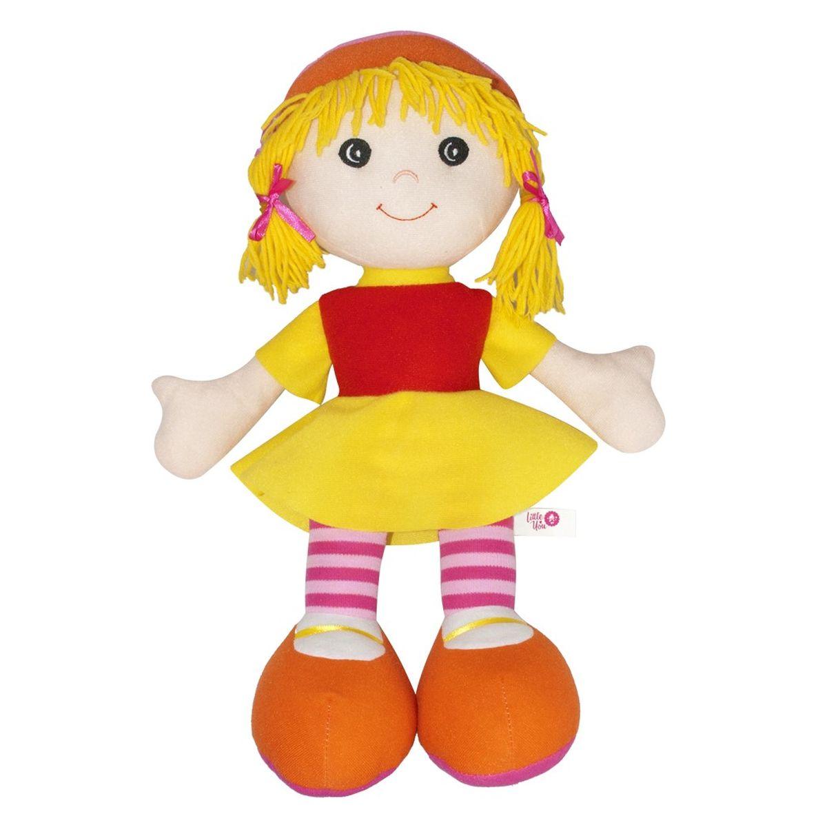 Фото - Little You Мягкая кукла Джейн little you мягкая кукла кейт цвет одежды голубой желтый