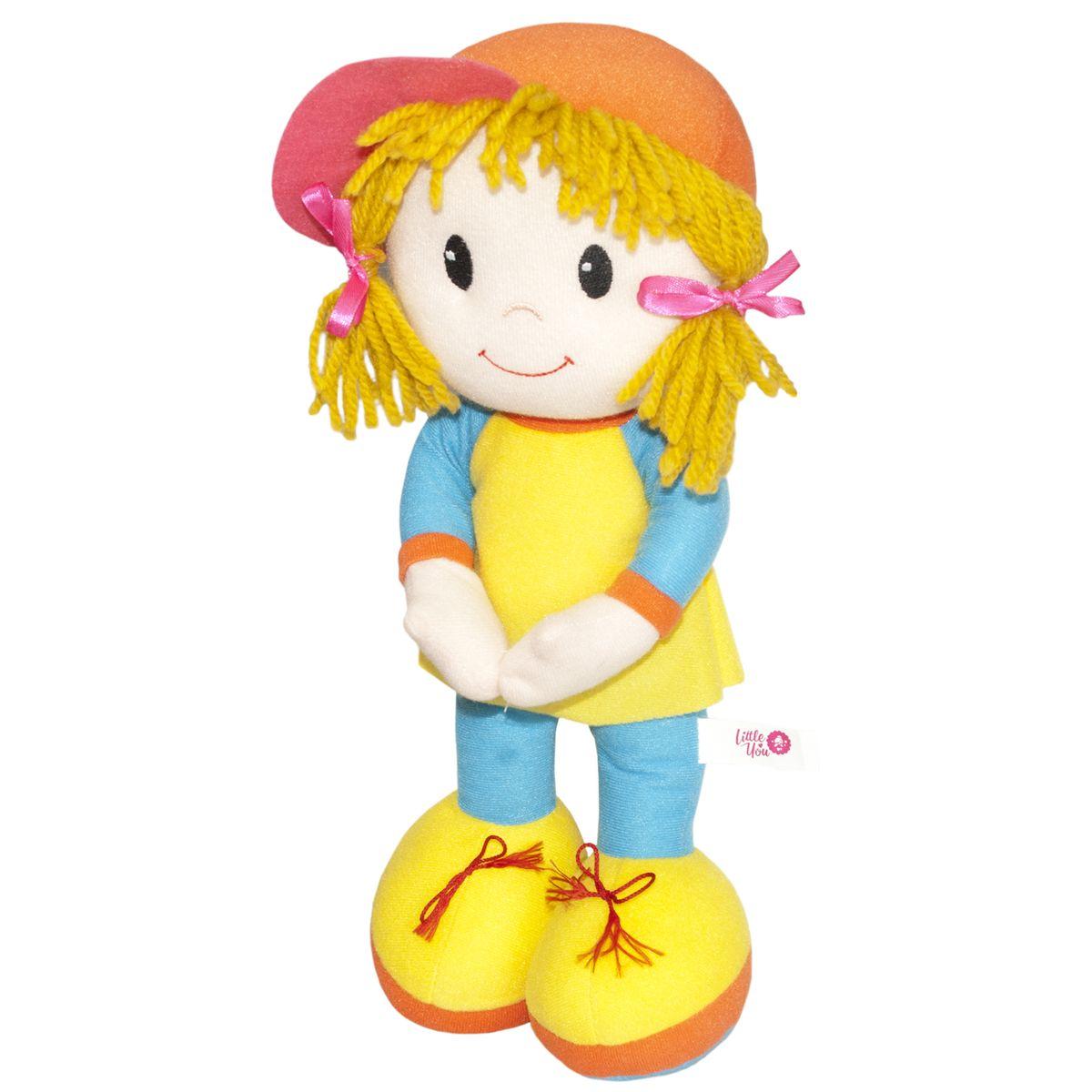 Фото - Little You Мягкая кукла Кейт цвет одежды голубой желтый little you мягкая кукла кейт цвет одежды голубой желтый