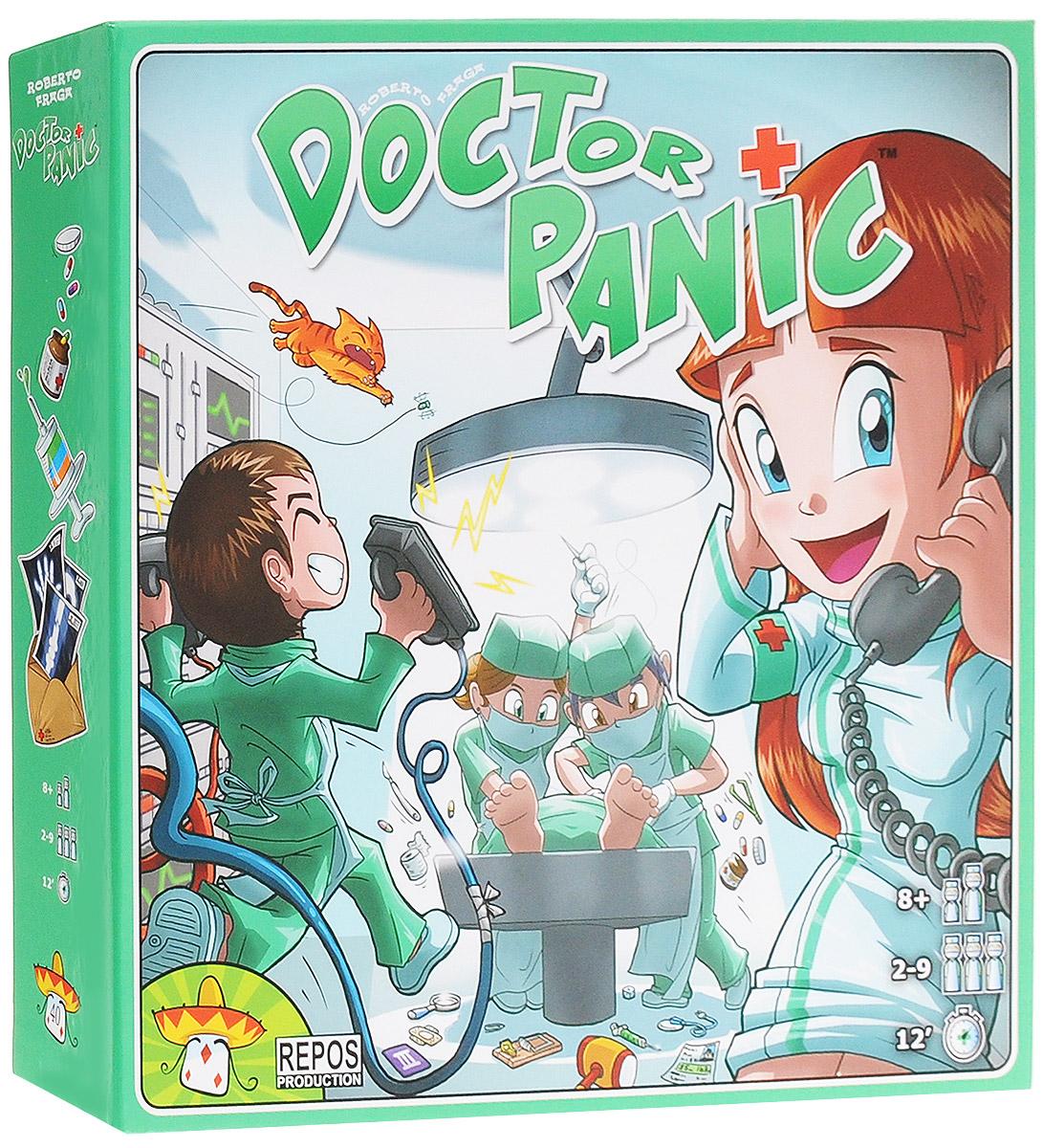 Asmodee Настольная игра Доктор Паника игры на бумаге 1 планшет