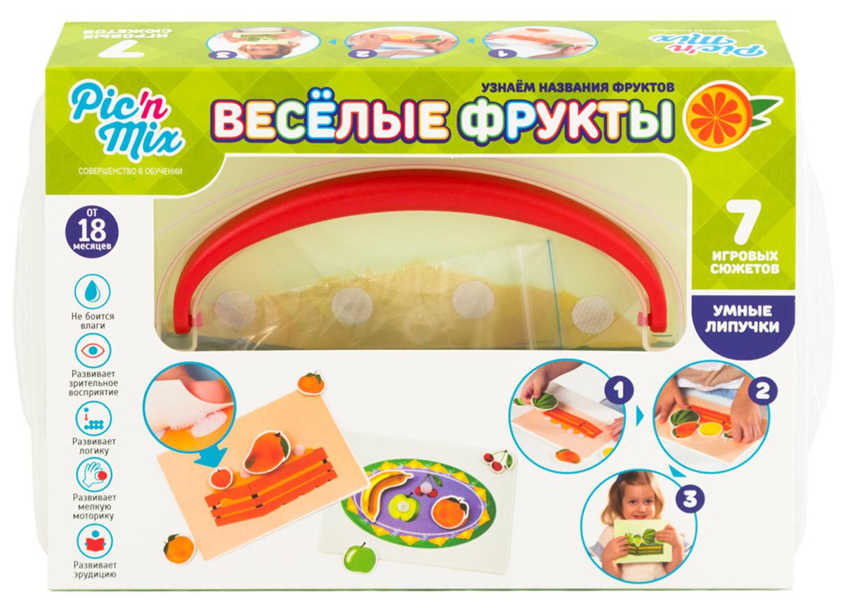PicnMix Игра настольная развивающая Веселые фрукты настольная игра радуга развивающая твоя игра веселые краски с 593