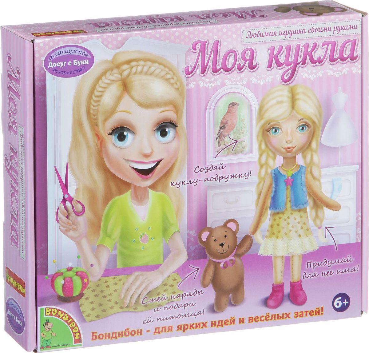 Bondibon Набор для шитья Моя кукла блондинка