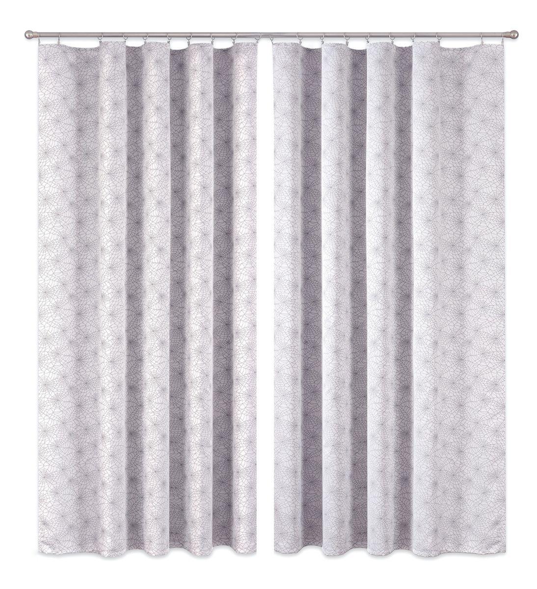 Комплект штор P Primavera Firany, цвет: серый, высота 270 см. 1110002