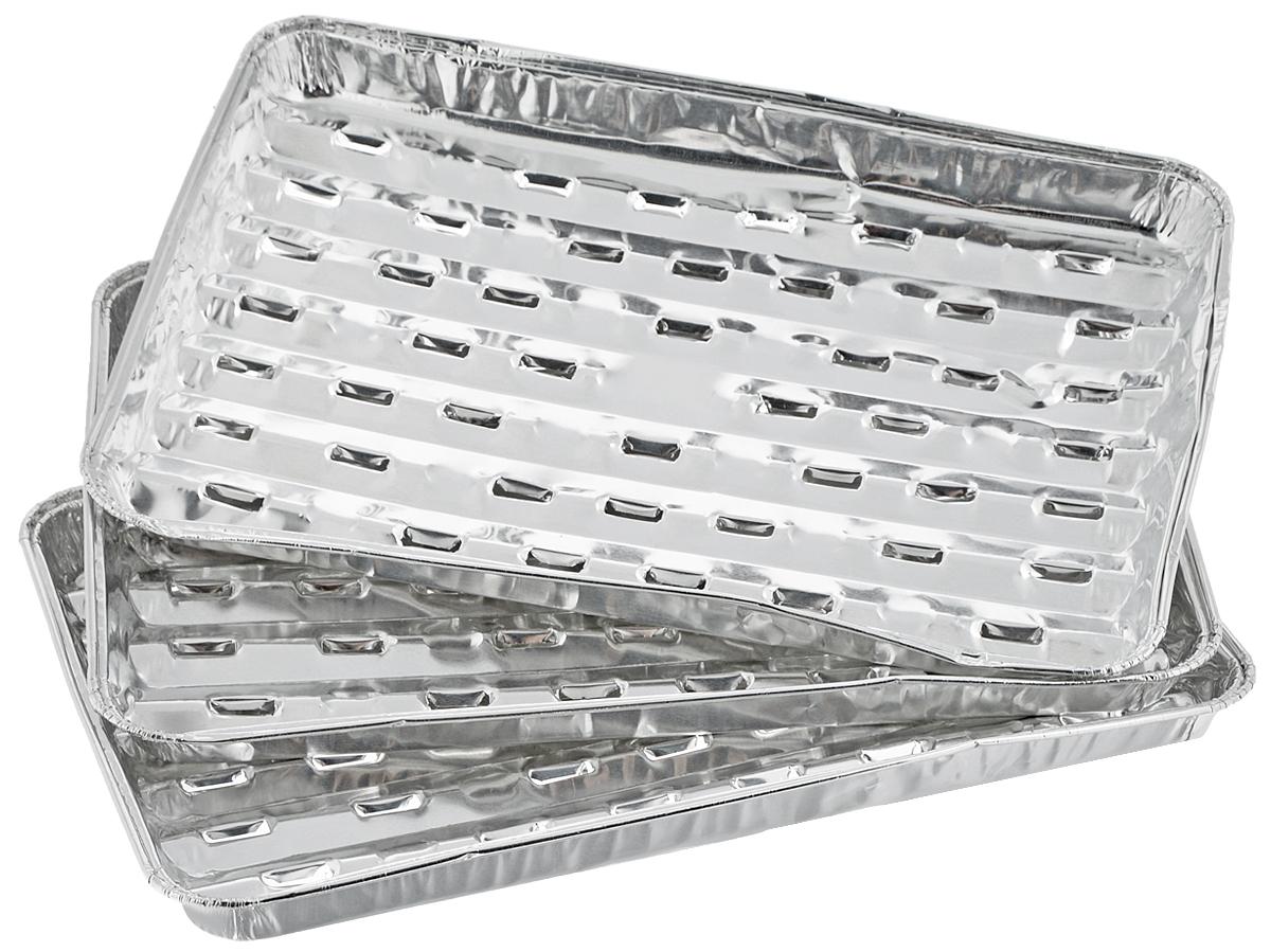 Набор форм для запекания Marmiton, 34 х 22,4 х 3,3 см, 3 шт набор форм для заливного home queen с крышками 3 шт