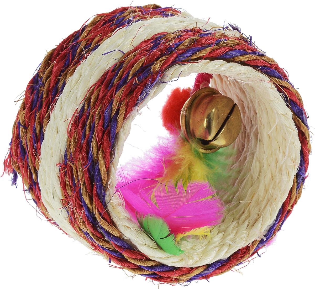 """Когтеточка Triol """"Валик"""", цвет в ассортименте, диаметр 7,5 см"""