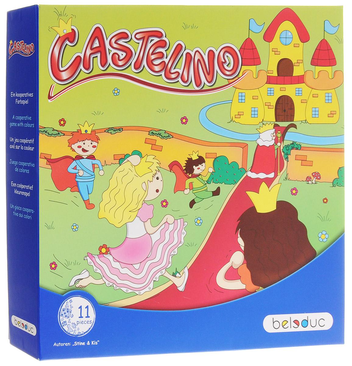 Beleduc Обучающая игра Замок Кастелино beleduc настенный игровой элемент цифры от 6 до 0 23627