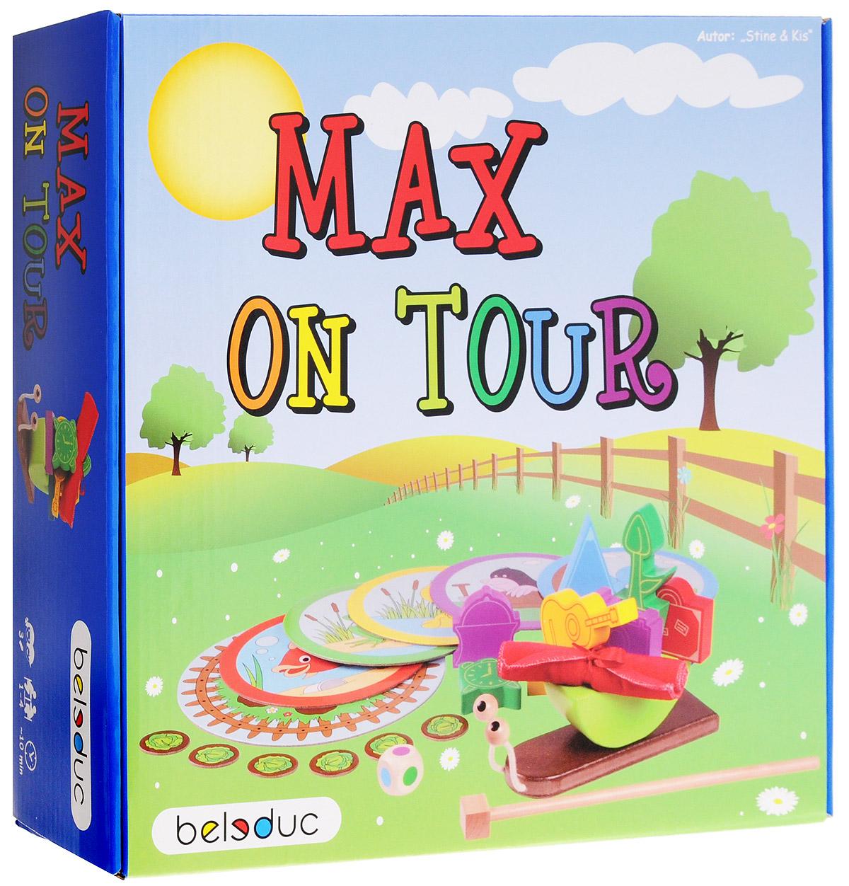 Beleduc Обучающая игра Путешествие Макса