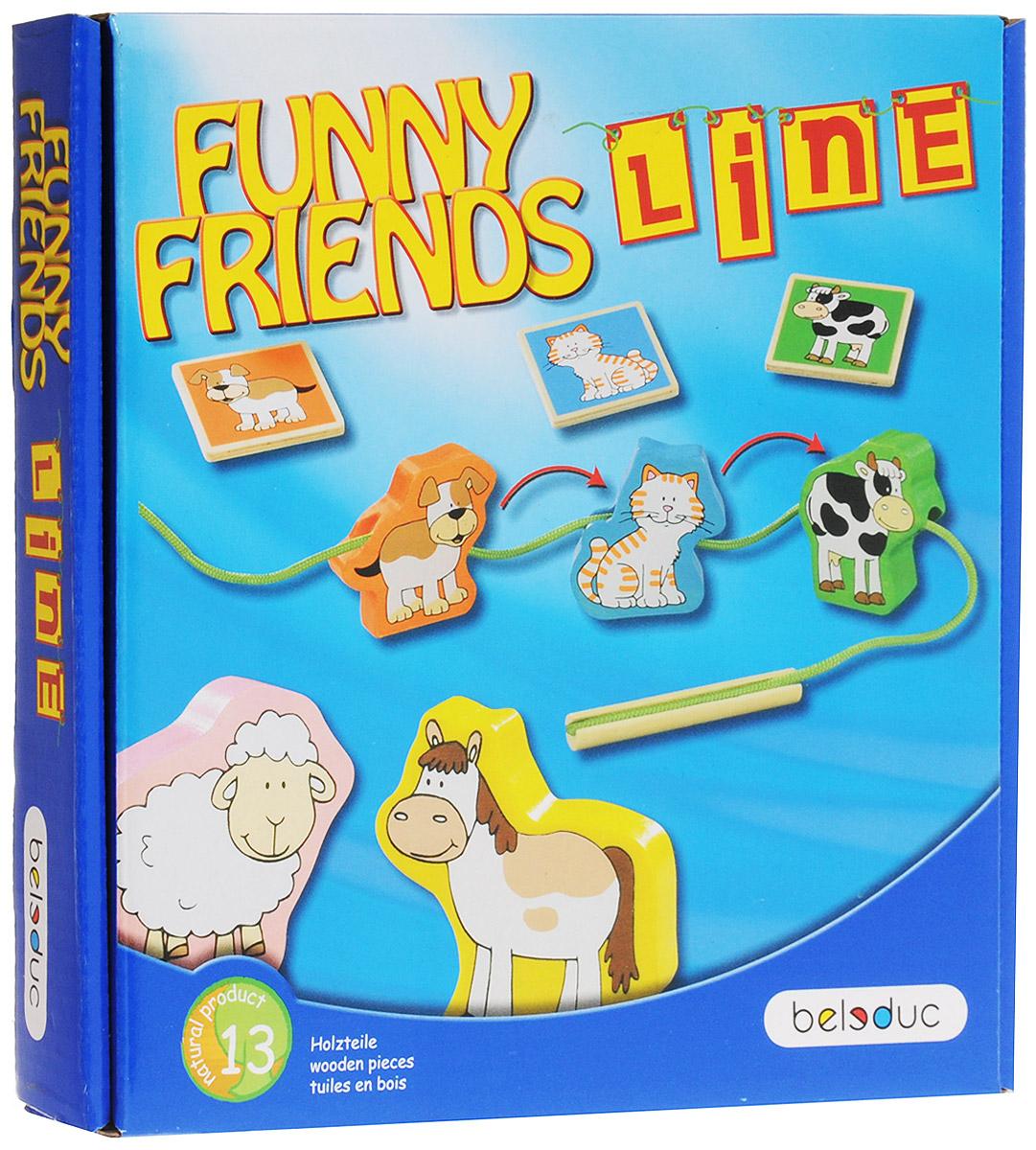 купить Beleduc Обучающая игра Веселые друзья Line по цене 1999 рублей