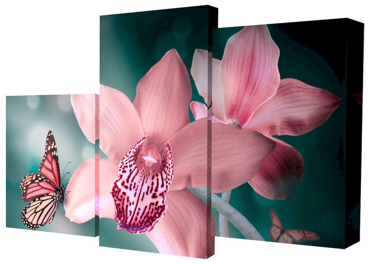 "Картина модульная Toplight ""Цветы"", 50 х 78 см. TL-MM1037"